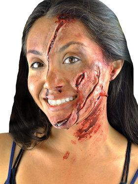Crash Victim FX Makeup Kit (Peel & Stick)