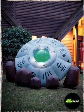 Crashed Extraterrestrial UFO Inflatable Prop