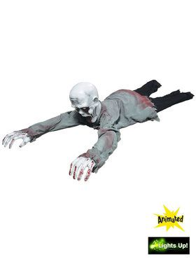 Crawling Zombie Animated Decoration
