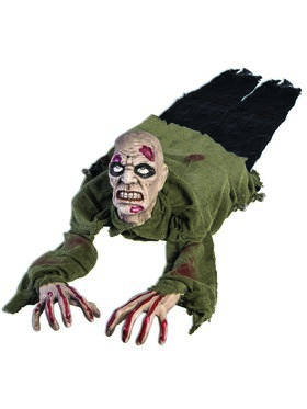 Crawling Undead Zombie Prop