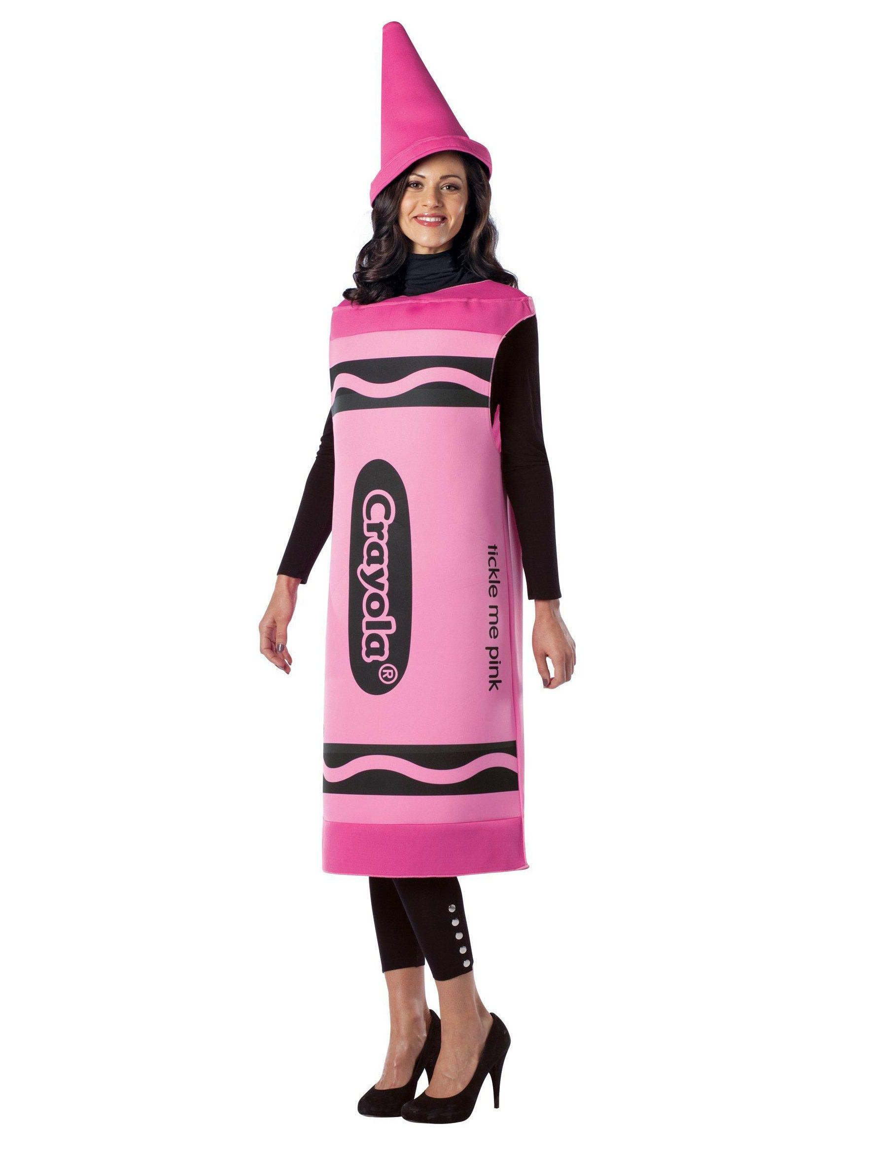 Crayola Tickle Me Pink Crayon Costume For Adults  sc 1 st  Wholesale Halloween Costumes & Crayola Tickle Me Pink Crayon Costume For Adults | Wholesale ...