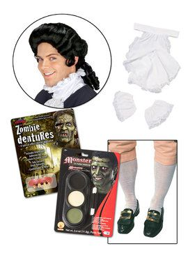 Zombie Colonial Accessory Kit