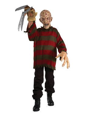 Creature Reacher Adult Freddy Krueger Costume