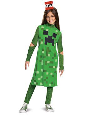 Creeper Girl Classic Child Costume
