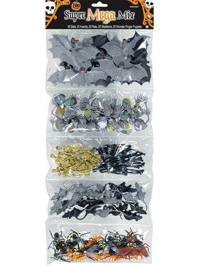 Creepy Crawly Plastic Favors (100 Pack)