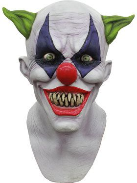 Adult Giggles the Clown Smiling Mask