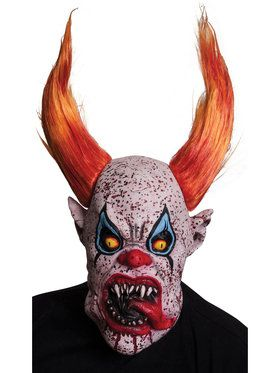 Creepy Horns the Clown Mask