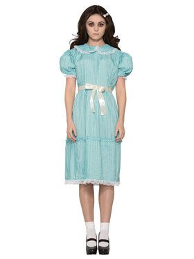 Creepy Sister Grady Twins Dress Costume - Adult Standard