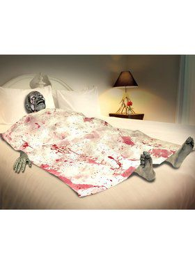 Creepy Zombie Bloody Death Bed