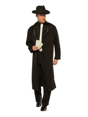 Crime Boss Men's Costume