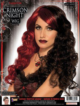 Crimson Night Female Wig