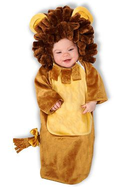 Infant Cuddly Lion Bunting Costume