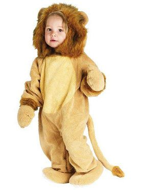 Cuddly Lion Costume For Toddlers
