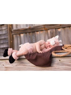 Cuddly Piglet Infant Diaper Cover Set