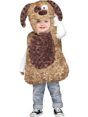 Cuddly Puppy Costume For Toddlers