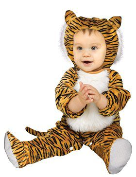 Cuddly Tiger Costume For Babies
