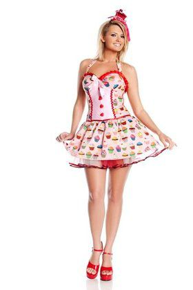 Cupcake Girl Plus Costume