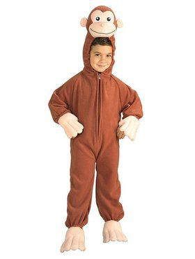 Curious George Child Costume for Boys