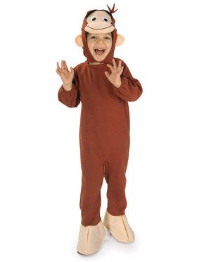 Curious George Costume For Toddlers