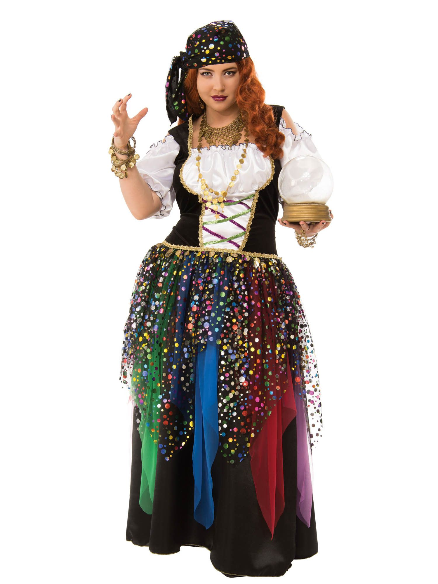 womens curvy gypsy plus 16 22 costume