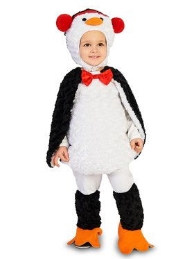 Cute Cuddly Penguin Costume For Toddlers