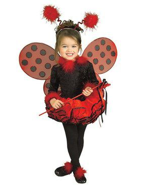 Cute Lady Bug Child Costume