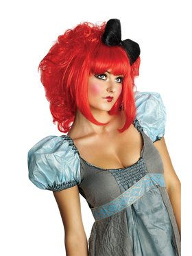 Red Nice Doll Hairpiece