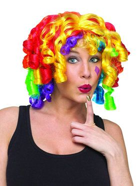 Cutie Pie Clown Wig Adult