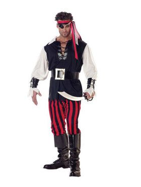 Cutthroat Pirate Adult Costume