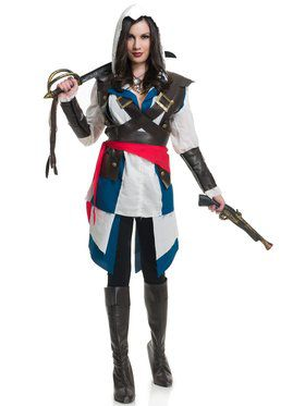 Cutthroat Pirate Girl Costume Women's Costume