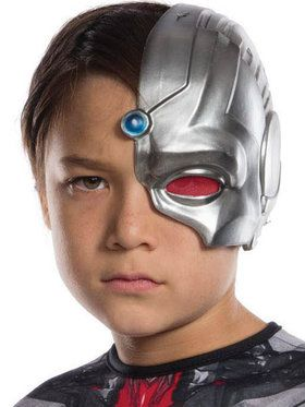Childrens 1/2 Cyborg Mask