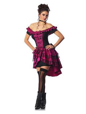 Dance Hall Queen Women's Sexy Costume