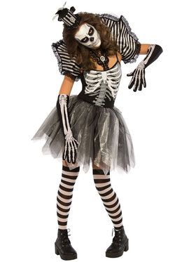 Dancing Skeleton Women's Costume