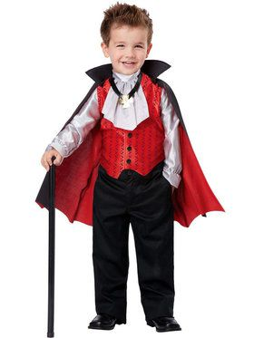 Dapper Vampire Costume Toddler