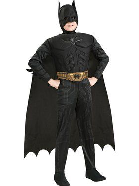 Dark Knight Batman Deluxe Muscle Chest Child Costume