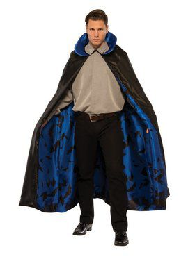 Dark Vampire Blue Men's Cape