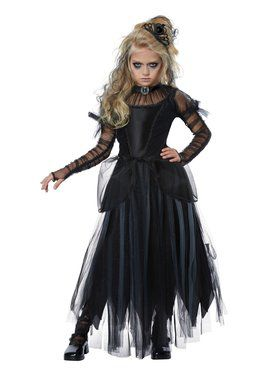 Dark Princess Costume for Children