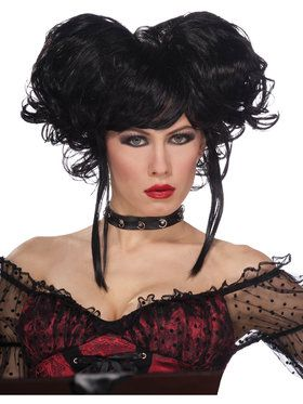 Dark Royalty Wig for Adults
