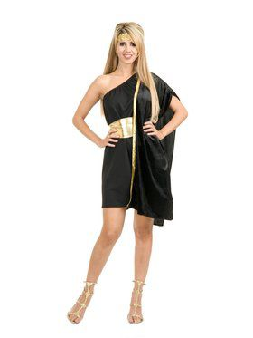 Women's Dark Side Grecian Toga Costume