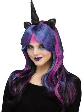 Dark Unicorn Wig