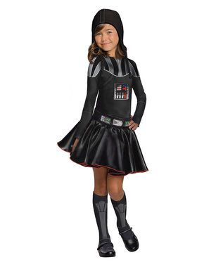 Darth Vader Girl's Costume