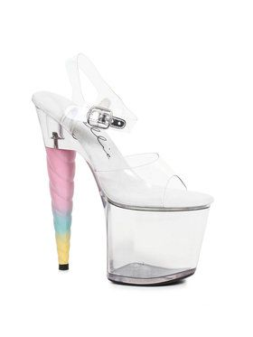 Dashing Unicorn Platform Sandals Adult