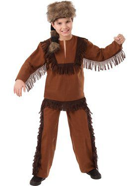 Davy Crockett Child Costume