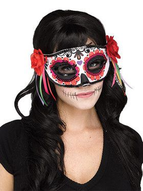 Day of the Dead Mask for Adults