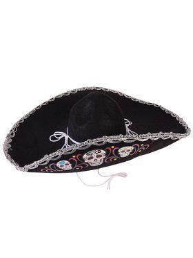Day of the Dead Deluxe Sombrero Accessory