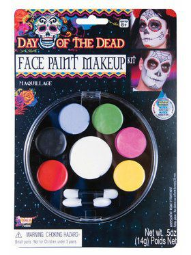 Day of the Dead Face Paint Make Up