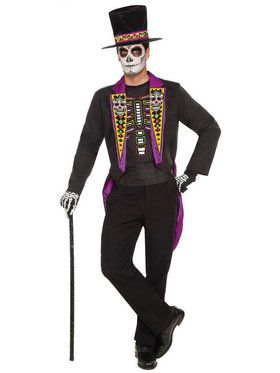 Day of the Dead Formal Mens Costume