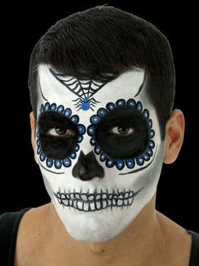 Day of the Dead Makeup Kit Men's