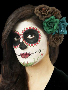 Day of the Dead Makeup Kit Womens