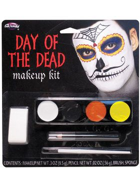 Male Mustache Face Makeup Kit